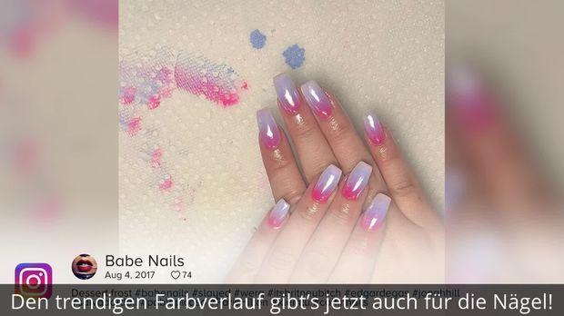 Neuer Nagel Trend 2018 So Geht Der Balayage Look Fur Die Fingernagel