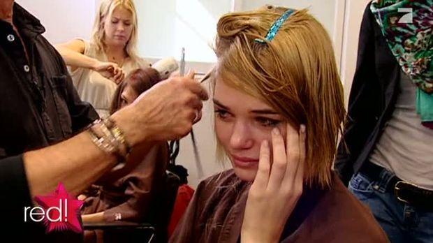 Tranen Beim Topmodel Umstyling