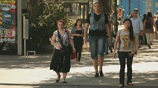 Frau deutschlands größte die Deutschlands höchste