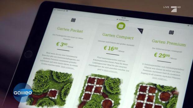 Galileo Video My Acker Eigenes Gemuse Per App Ernten Prosieben