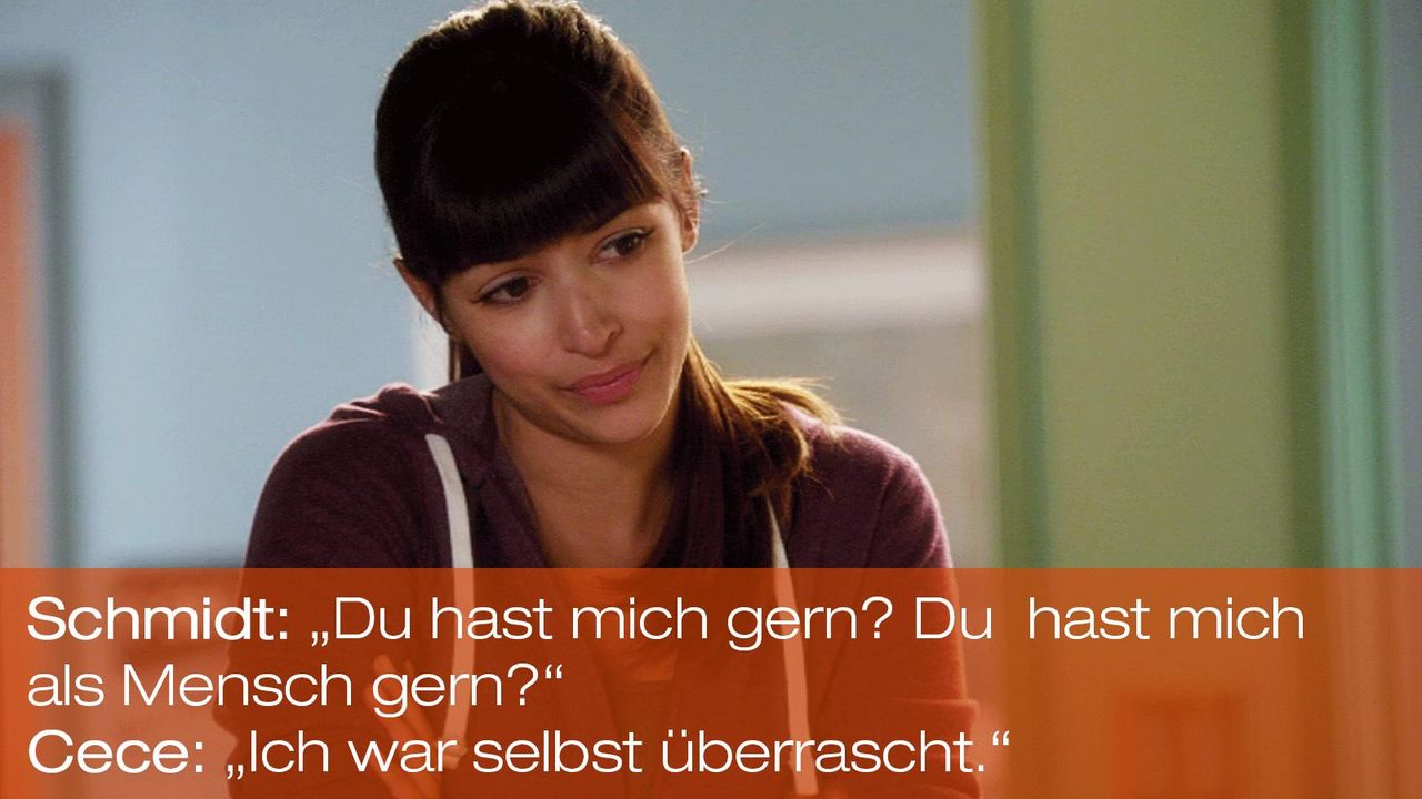 New Girl - Zitate - Staffel 1 Folge 22 - Cece (Hannah Simone) - Bildquelle: 20th Century Fox