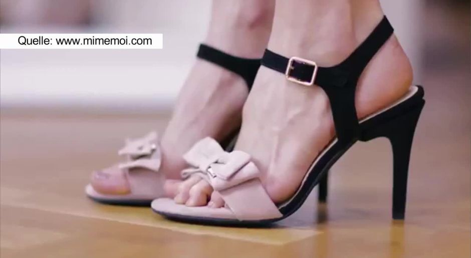 345b35e2a2604f taff - Video - Transformer High-Heels  Bei diesen Schuhen sind die Absätze  verstellbar - ProSieben