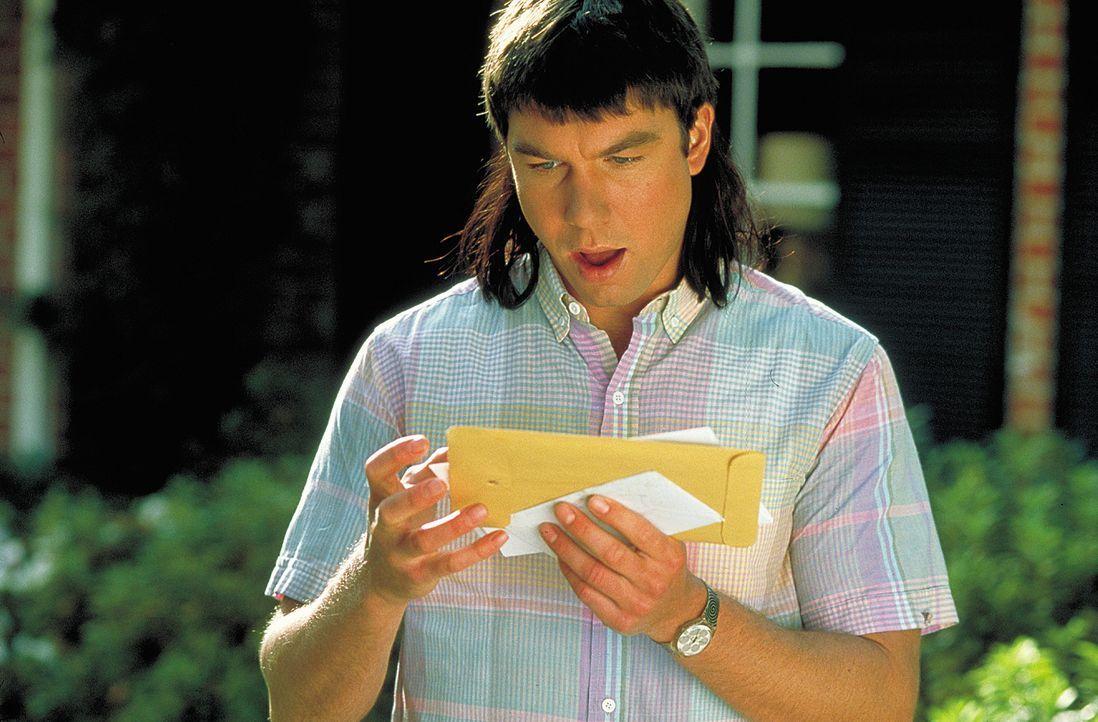 David (Jerry O?Connell) erinnert sich zurück an die größte Gefühlswallung seines Lebens: 18 Jahre alt und Post von seiner Angebeteten ... - Bildquelle: 2003 Sony Pictures Television International. All Rights Reserved.