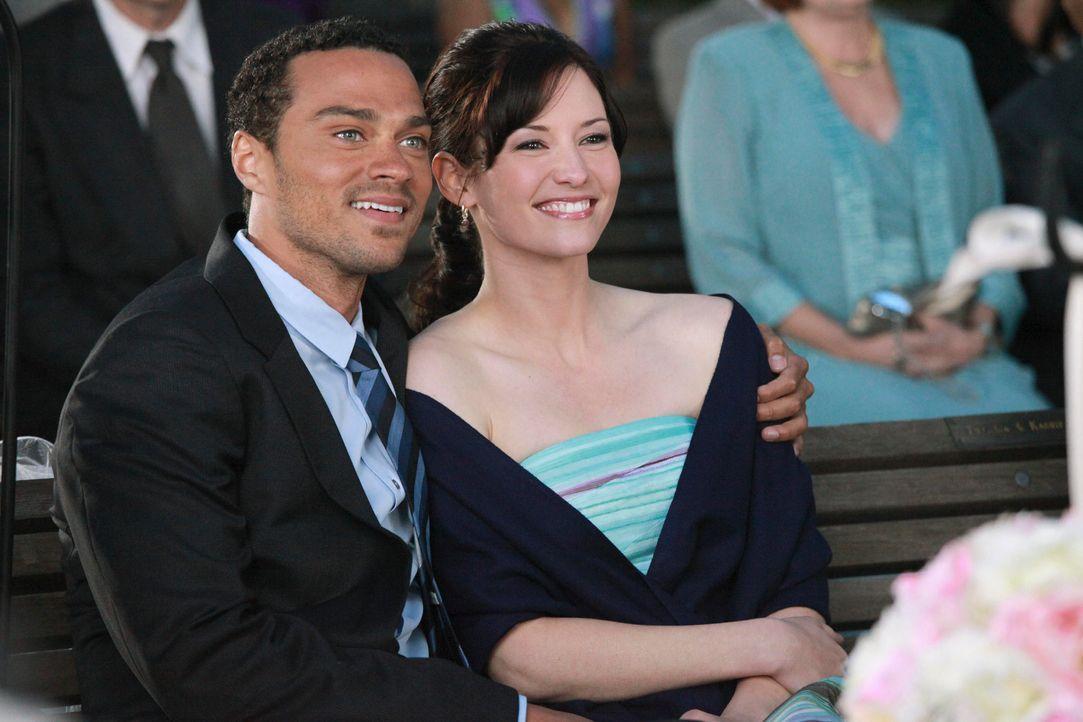 Grey's Anatomy – Mark und Lexie – 23: Jackson (Jesse Williams), Lexie (Chyler Leigh) - Bildquelle: ABC Studios