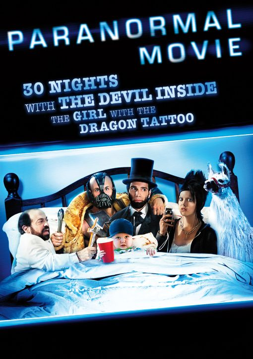 30 NIGHTS OF PARANORMAL ACTIVITY WITH THE DEVIL INSIDE THE GIRL WITH THE DRAGON TATTOO - Plakat - Bildquelle: 2012 TT Productions, LLC.  All rights reserved.
