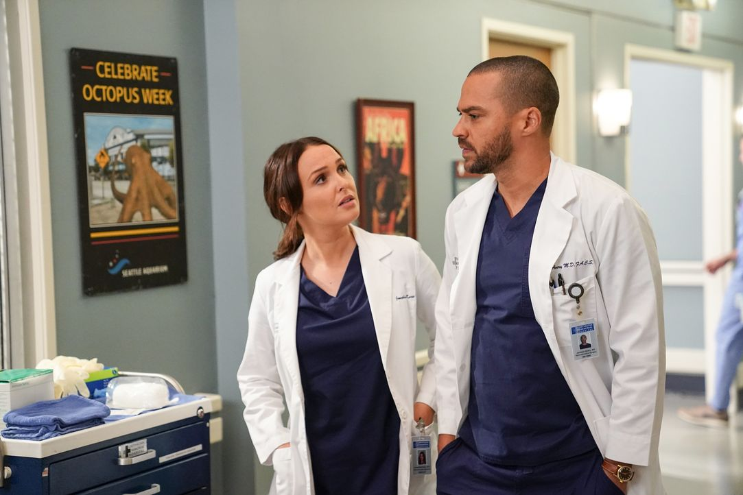 Dr. Jo Karev (Camilla Luddington, l.); Dr. Jackson Avery (Jesse Williams, r.) - Bildquelle: Gilles Mingasson 2020 American Broadcasting Companies, Inc. All rights reserved. / Gilles Mingasson