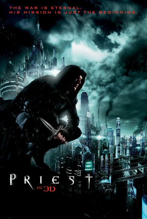 PRIEST - Plakatmotiv - Bildquelle: 2011 Screen Gems, Inc. All Rights Reserved.