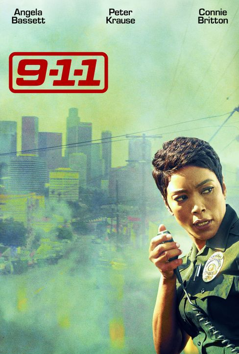 (1. Staffel) - 9-1-1- Artwork - Detective Athena Grant (Angela Bassett) - Bildquelle: 2018 Fox and its related entities.  All rights reserved.