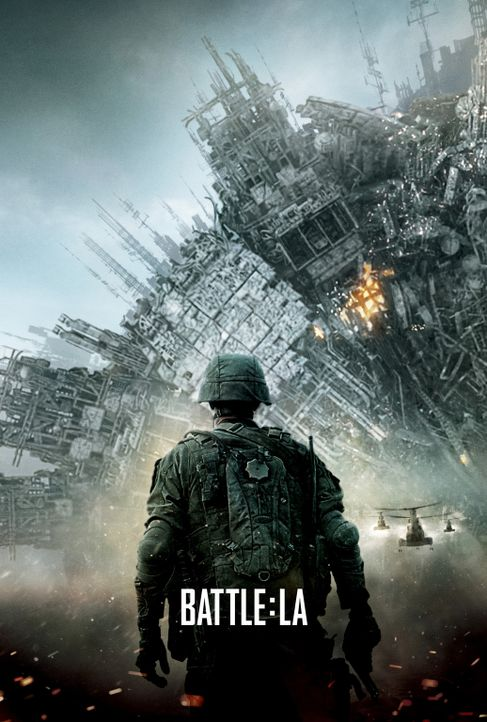WORLD INVASION: BATTLE LOS ANGELES - Plakatmotiv - Bildquelle: 2011 Columbia Pictures Industries, Inc. and Beverly Blvd LLC. All Rights Reserved.