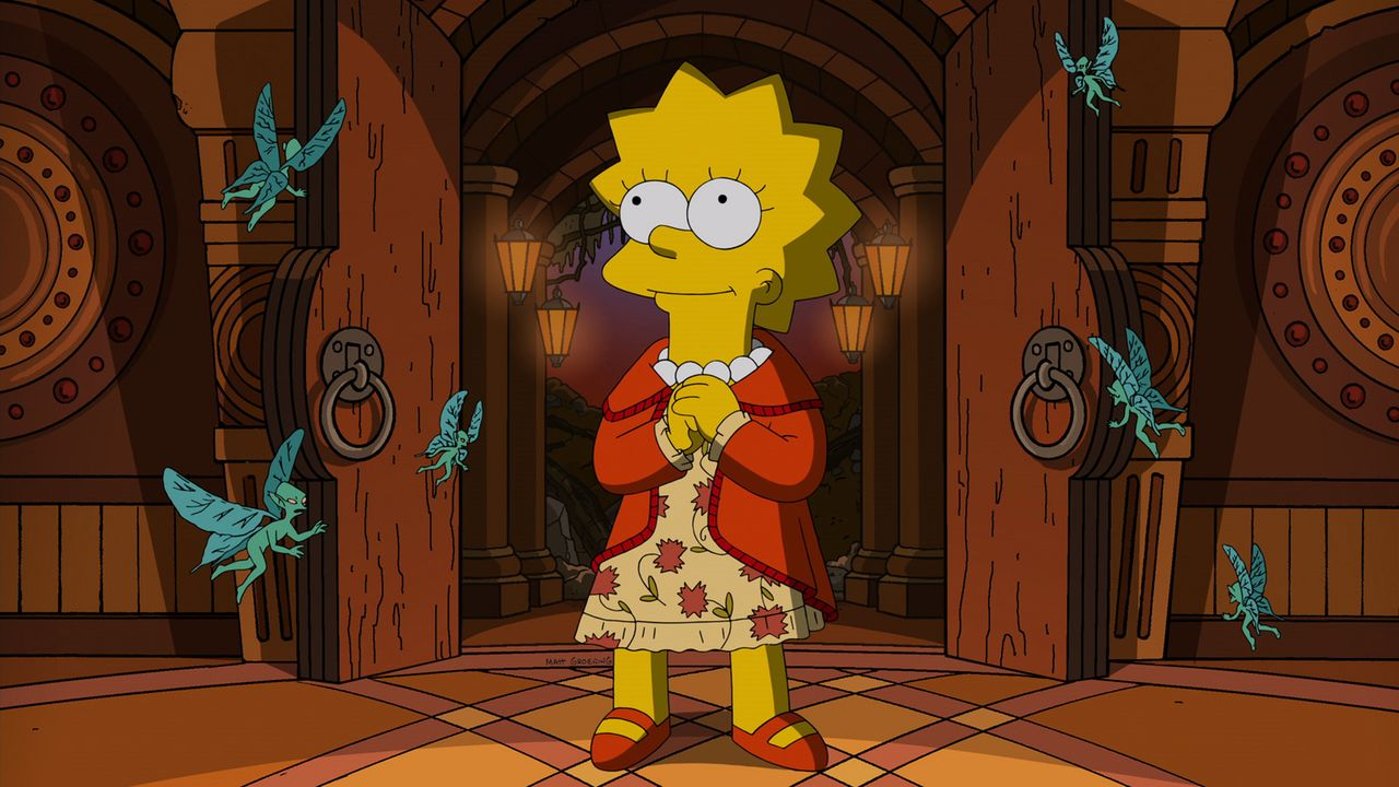 Treehouse of Horror XXIV: Lisa gerät in große Gefahr ... - Bildquelle: 2013 Twentieth Century Fox Film Corporation. All rights reserved.