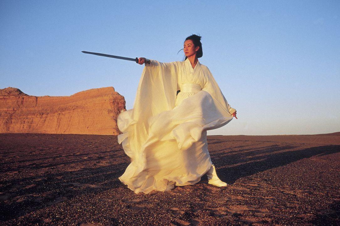 Trachtet dem tyrannischen König von Qin nach dem Leben: Flying Snow (Maggie Cheung) ... - Bildquelle: Constantin Film