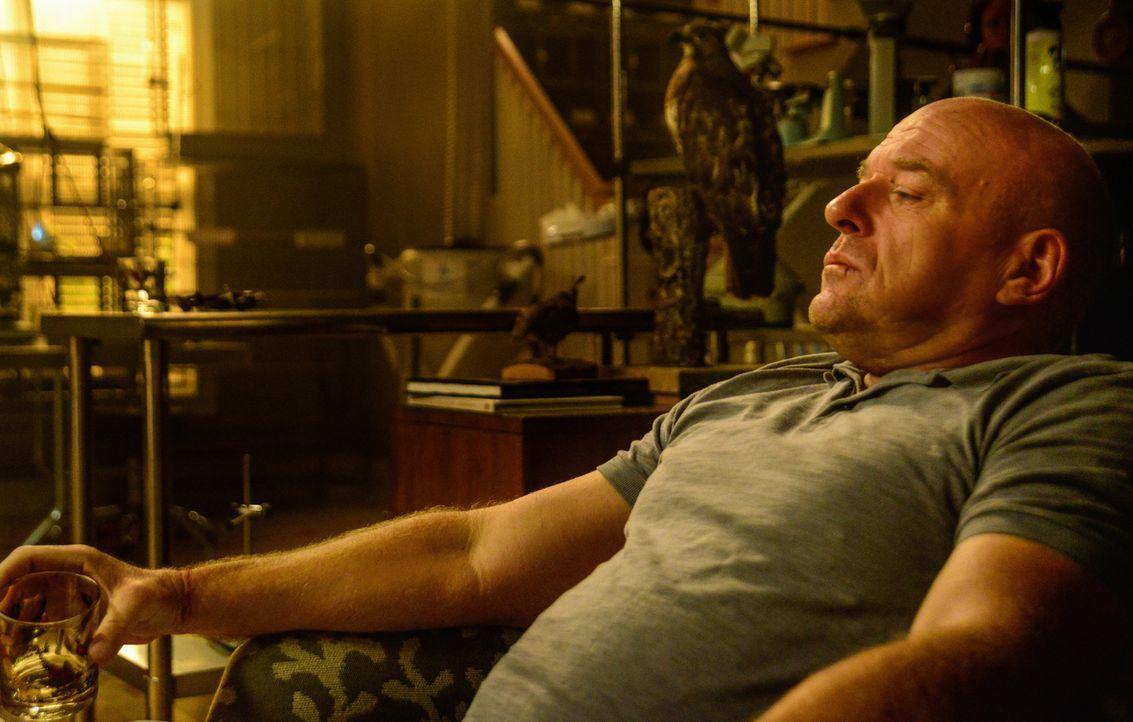 Big Jim (Dean Norris) sammelt auf Bird Island Kraft für den nächsten Schlag gegen Christine und die Kuppel. Aber was wird er als nächstes tun? - Bildquelle: Brownie Harris 2015 CBS Studios Inc.