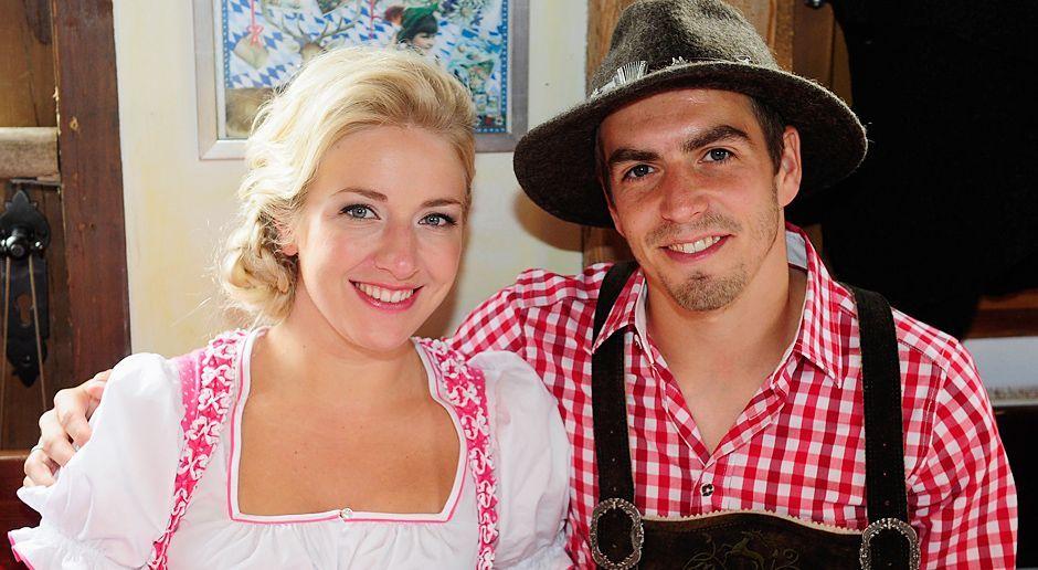 Philipp-Lahm-oktoberfest-wiesn-13-10-06-dpa - Bildquelle: dpa