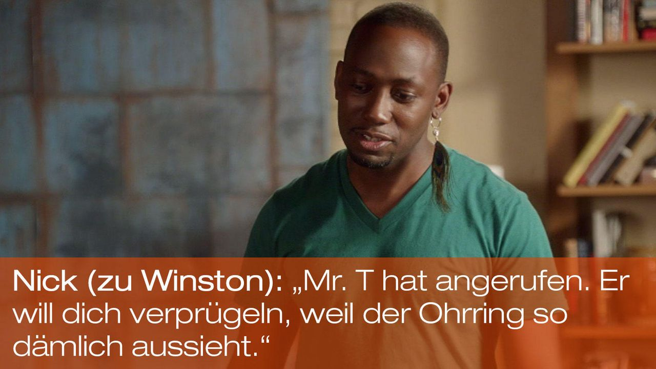 New Girl - Zitate - Staffel 1 Folge 23: 09 - Winston (Lamorne Morris) - Bildquelle: 20th Century Fox