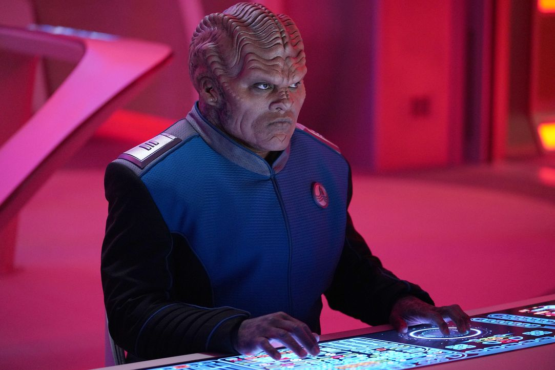 Lieutenant Commander Bortus (Peter Macon) - Bildquelle: Michael Becker 2019 Twentieth Century Fox Film Corporation.  All rights reserved.