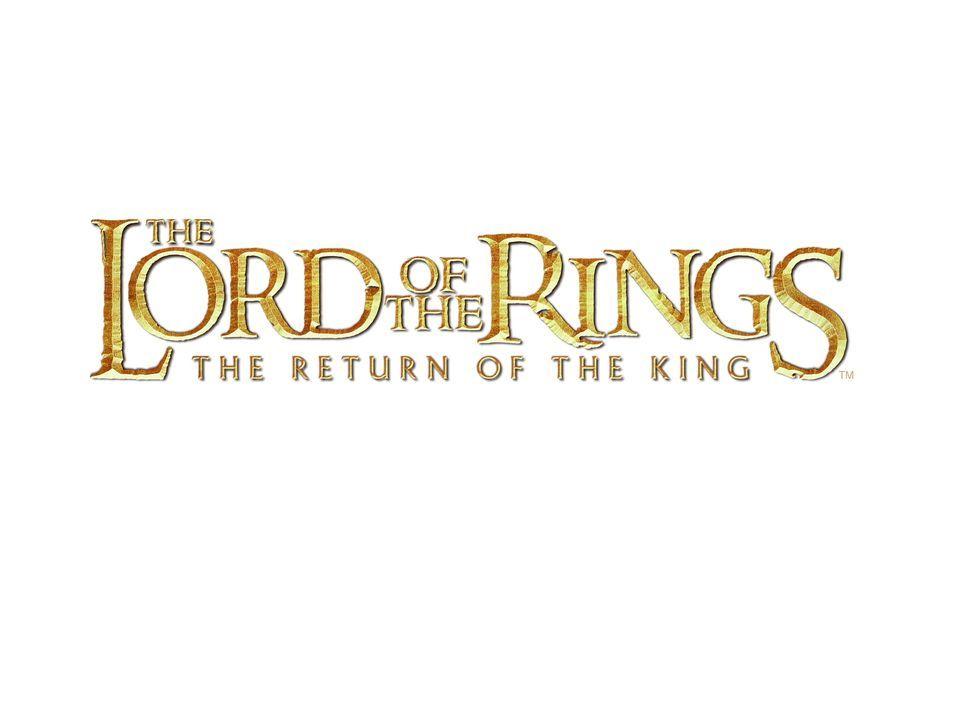 """The Lord of the Rings: The Return of the King"" - Originaltitel-Logo ... - Bildquelle: Warner Bros."