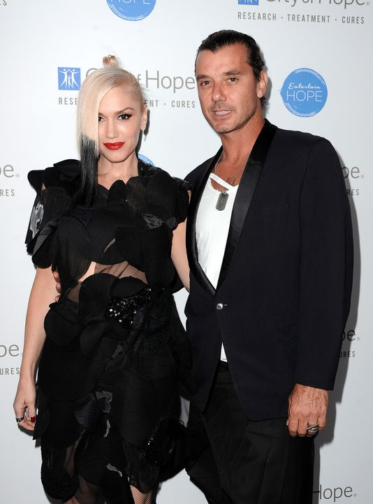 Gwen-Stefani-Gavin-Rossdale-141023-getty-AFP - Bildquelle: getty-AFP