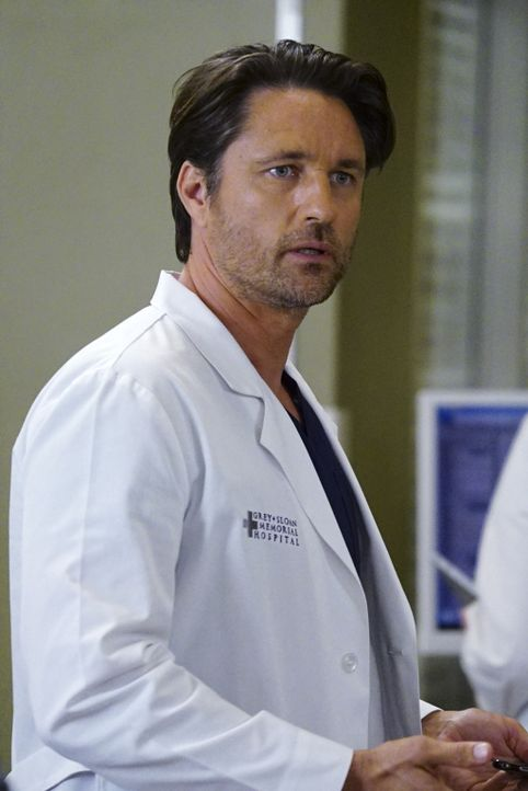 Wie wird er auf Dr. Leah Murphy reagieren: Nathan (Martin Henderson) ... - Bildquelle: Richard Cartwright 2016 American Broadcasting Companies, Inc. All rights reserved.