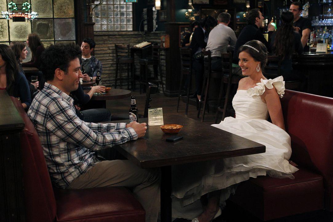 Haben Ted (Josh Radnor, l.) und Victoria (Ashley Williams, r.) noch eine Chance? - Bildquelle: 20th Century Fox International Television
