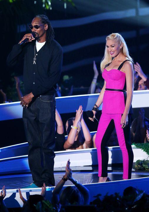 Rapper -Snoop- Dogg-Gwen- Stefani-14-08-24-MTV-VMAS-AFP - Bildquelle: AFP