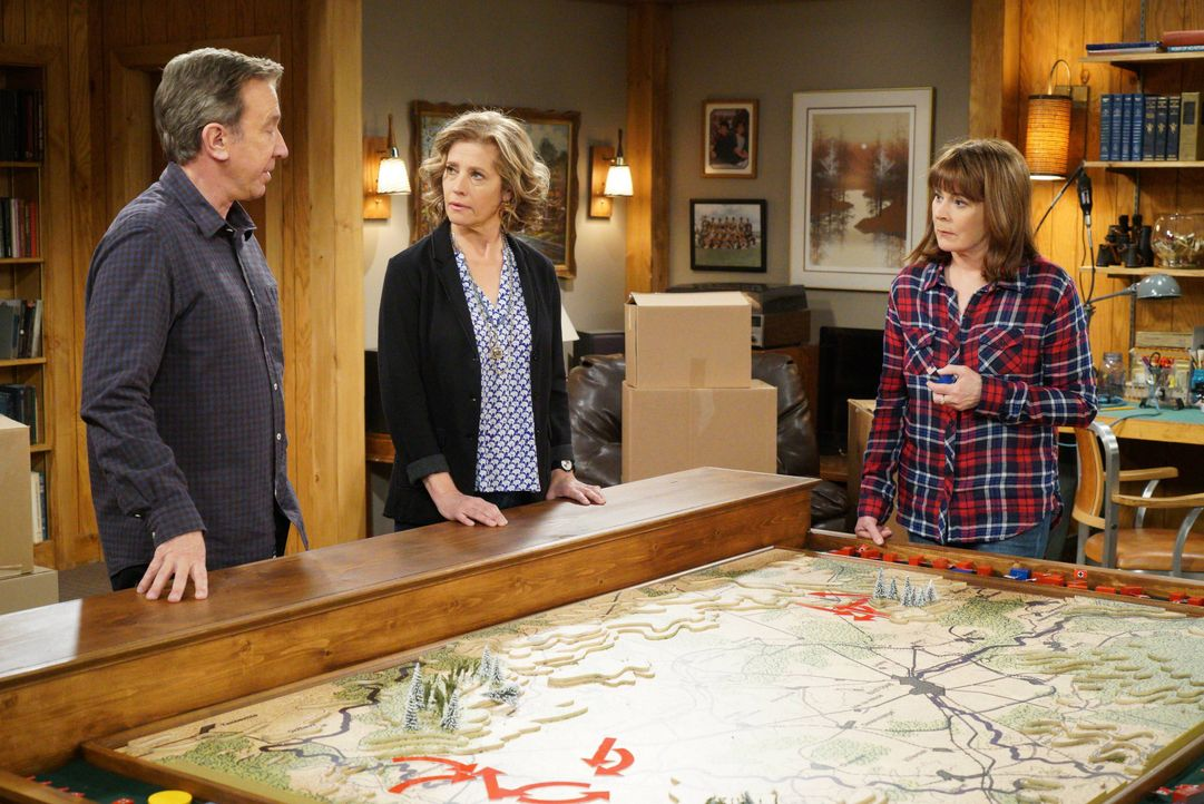 (v.l.n.r.) Mike Baxter (Tim Allen); Vanessa Baxter (Nancy Travis); Helen Potts (Patricia Richardson) - Bildquelle: 2015-2016 American Broadcasting Companies. All rights reserved.