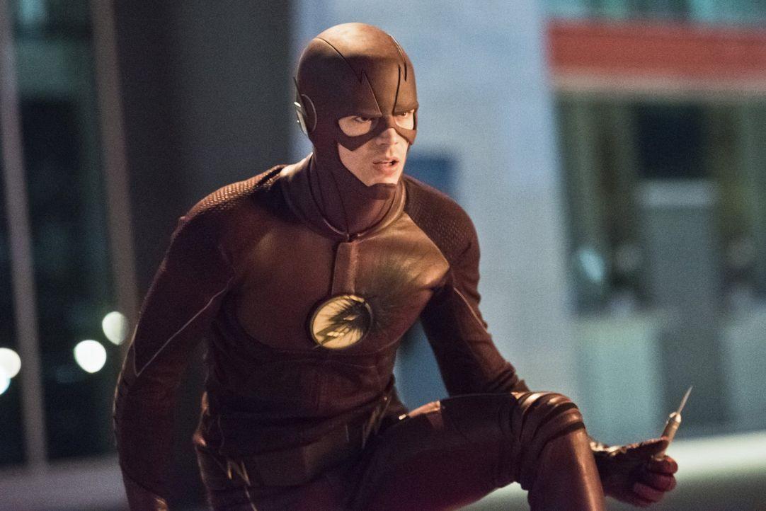 Ist Barry alias The Flash (Grant Gustin) stark und schnell genug, um sich Zoom entgegenzustellen? - Bildquelle: 2015 Warner Brothers.
