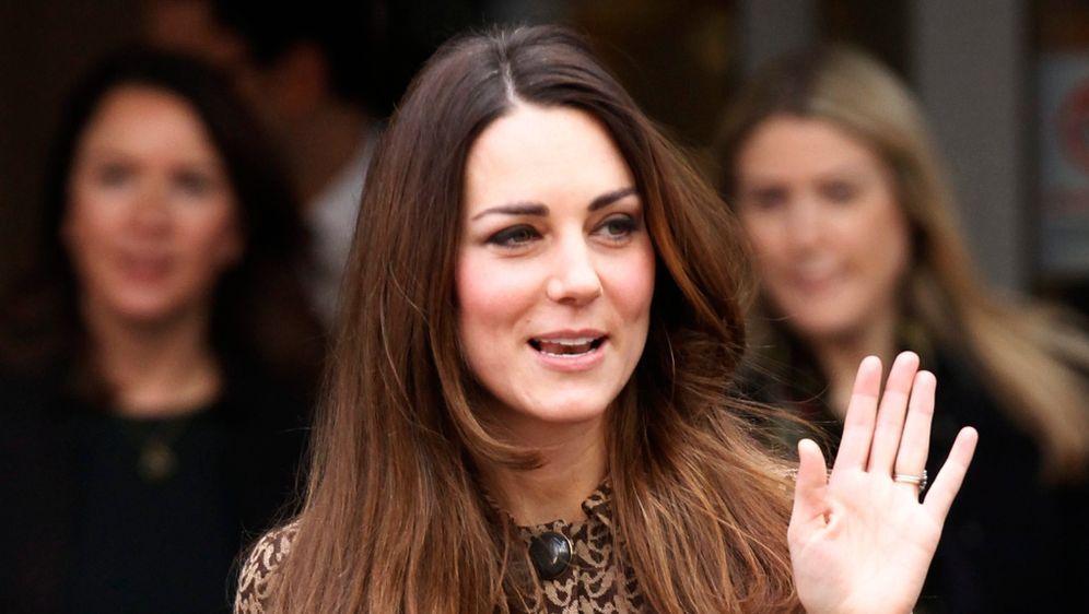 Kate Middleton Mit Neuer Frisur Ombre Look Statt Graues Haar