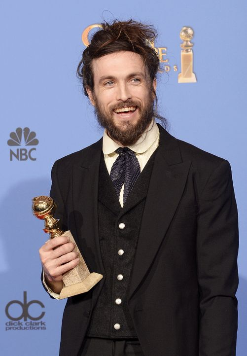 Golden-Globe-Alex-Ebert-14-01-12-getty-AFP - Bildquelle: getty-AFP