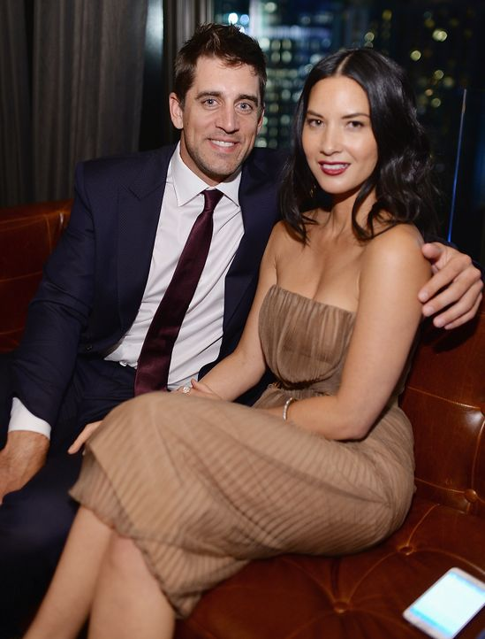 Aaron-Rodgers-Olivia-Munn-140624-getty-AFP - Bildquelle: getty-AFP