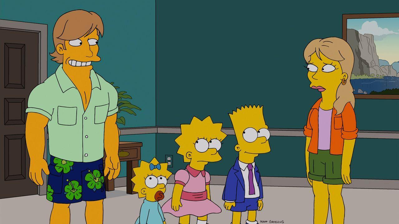 Ein schwerer Tornado sucht Springfield heim und  Homer und Marge geraten in Lebensgefahr. Damit ihre Kinder abgesichert sind, falls ihnen was zustoß... - Bildquelle: und TM Twentieth Century Fox Film Corporation - Alle Rechte vorbehalten