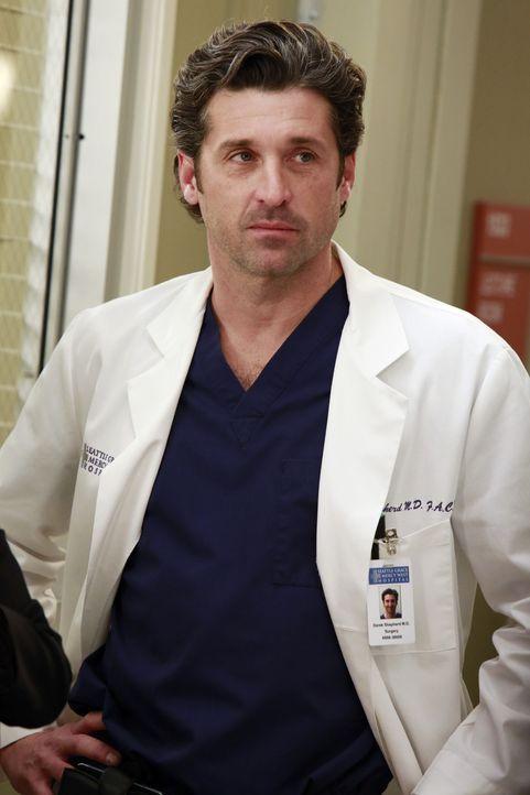 Dr. Derek Shepherd (Patrick Dempseym) weiß was es für eine Belastung und Verantwortung mit sich bringt, ein Krankenhaus zu leiten. Trotzdem möcht... - Bildquelle: ABC Studios