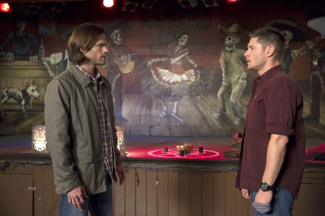 Wie weit wird Sam (Jared Padalecki, l.) gehen und auf welche Deals wird er sich einlassen, um Dean (Jensen Ackles, r.) von dem Kainsmal zu befreien? - Bildquelle: 2016 Warner Brothers