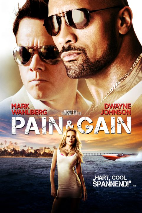 PAIN & GAIN - Plakatmotiv - Bildquelle: (2014) PARAMOUNT PICTURES. ALL RIGHTS RESERVED.