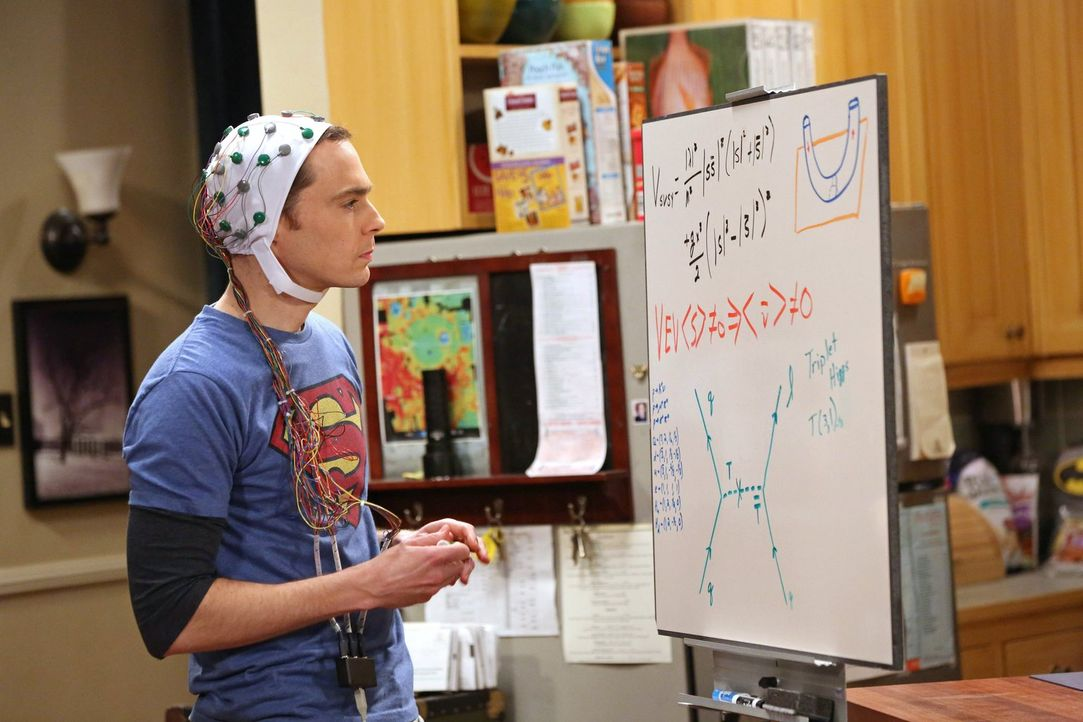 Sheldon (Jim Parsons) glaubt, dass er sich in seinem Leben zu wohl fühlt und deshalb beruflich nicht weiter kommt. Seine Freunde sollen nun dafür so... - Bildquelle: Warner Bros. Television