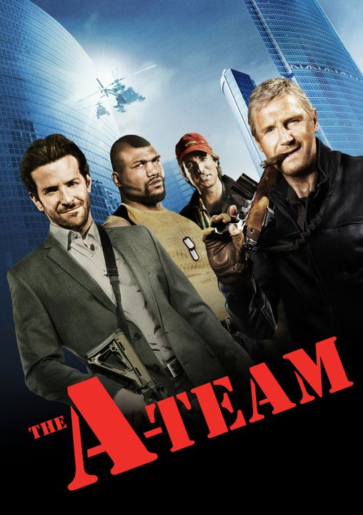 The A-Team - Plakatmotiv - Bildquelle: TM and   2010 Twentieth Century Fox Film Corporation. All rights reserved. Not for sale or duplication.