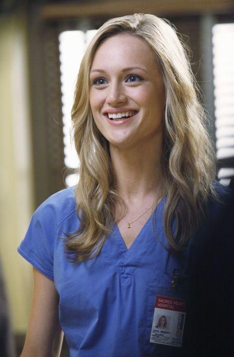 Dr. Cox macht es ihr nicht leicht: Lucy (Kerry Bishe) ... - Bildquelle: Touchstone Television