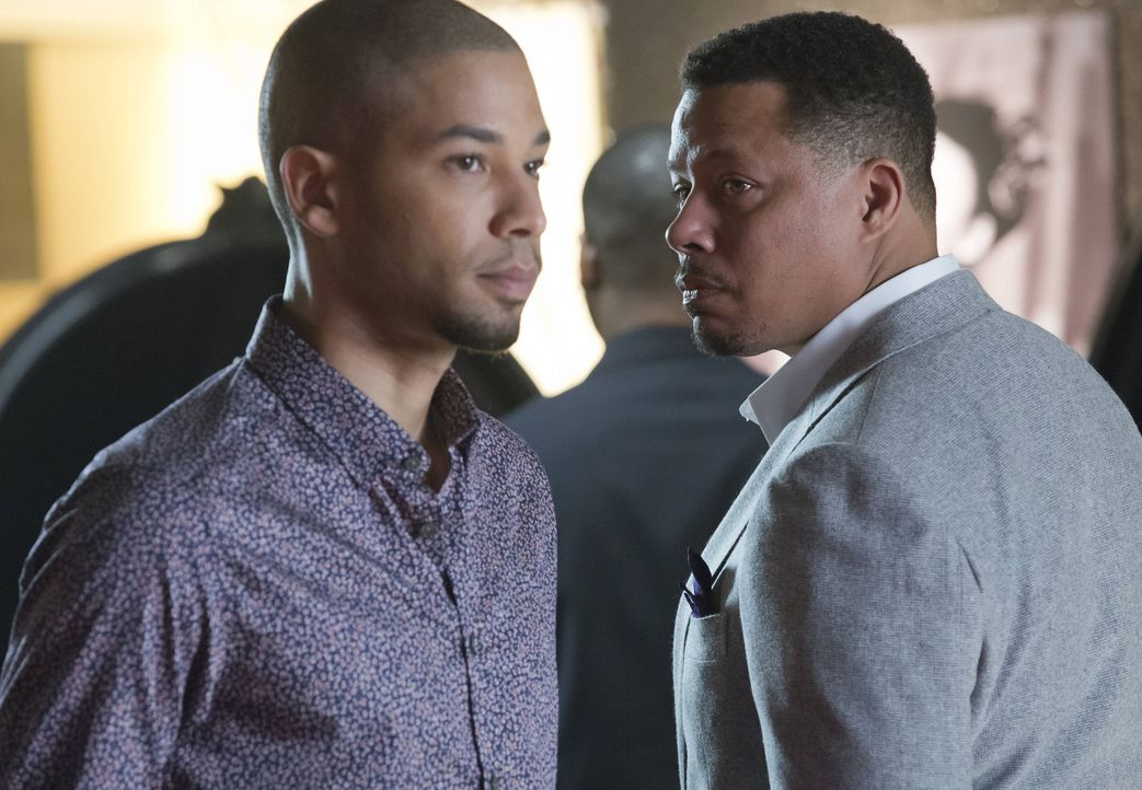 Nach Hakeems desaströsem Rap setzt Lucious (Terrence Howard, r.) auf Jamal (Jussie Smollett, l.). Dieser hat jedoch ebenfalls den Respekt für seinen... - Bildquelle: 2015 Fox and its related entities.  All rights reserved.