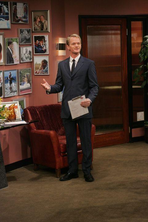 Wird von Ellen durchschaut: Barney (Neil Patrick Harris) ... - Bildquelle: 20th Century Fox International Television