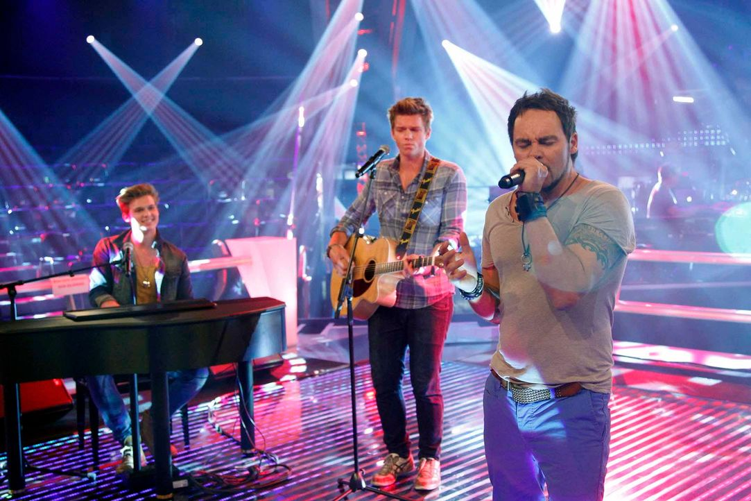 battle-felix-lucas-rob-01-the-voice-of-germany-huebnerjpg 2160 x 1440 - Bildquelle: SAT.1/ProSieben/Richard Hübner