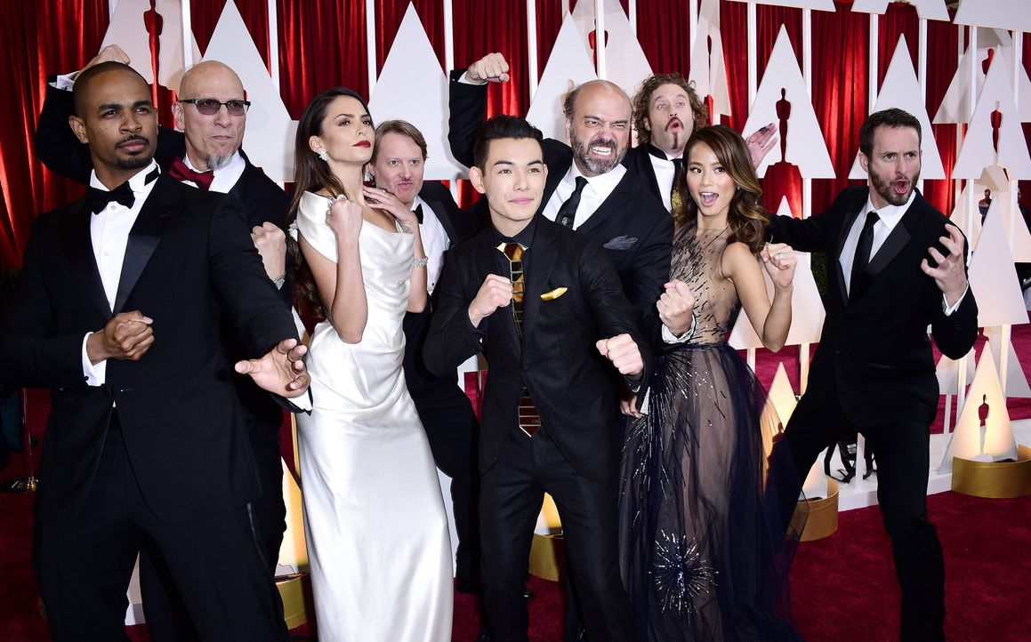 Gruppenfoto Red Carpet - Bildquelle: dpa