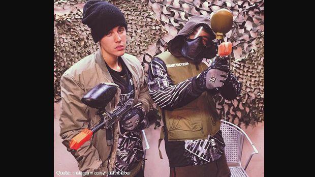 Justin-Bieber-Schnappi-Instagram-com-justinbieber - Bildquelle: Instagram.com/ justinbieber