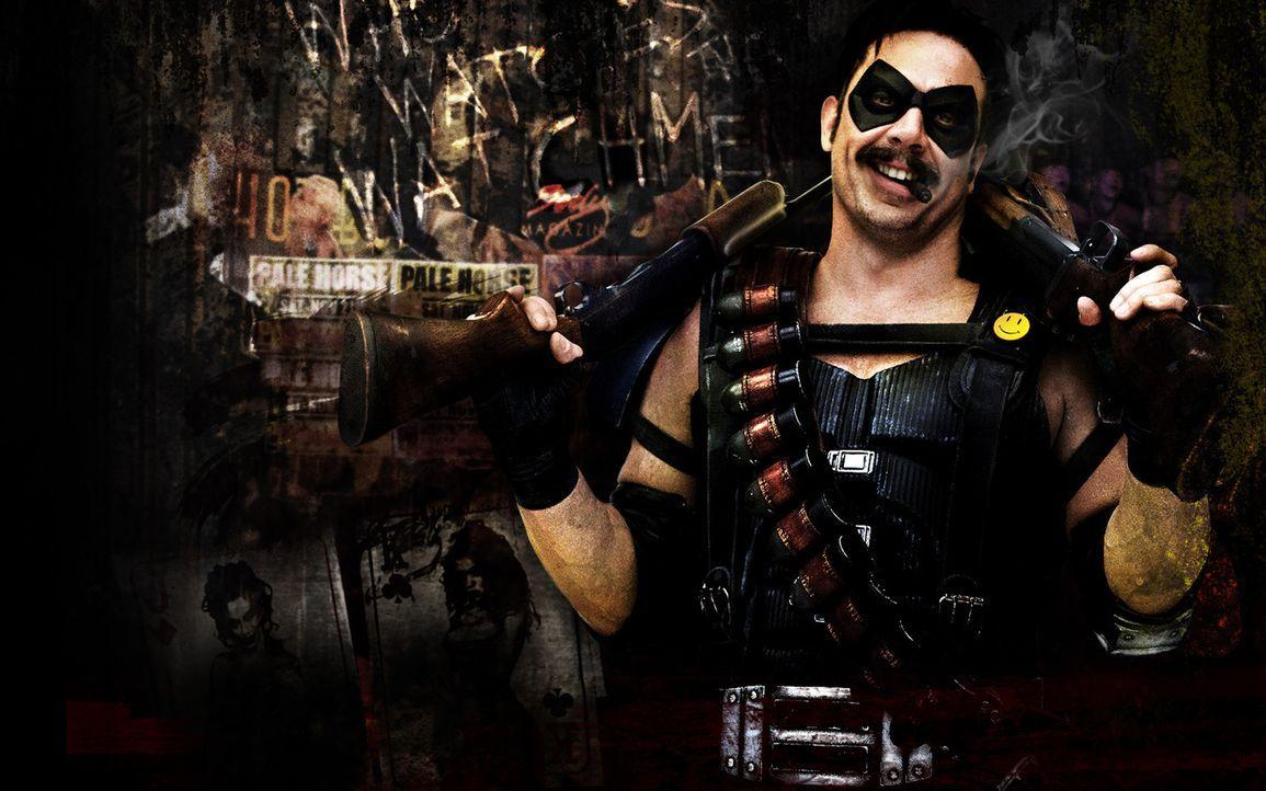 Wird ermordet: der ehemalige Superheld The Comedian (Jeffrey Dean Morgan) ... - Bildquelle: Paramount Pictures