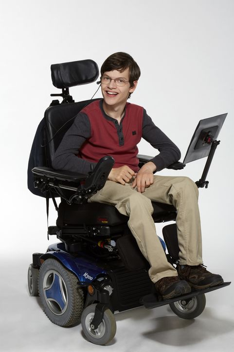 (1. Staffel) - JJ (Micah Fowler) hat eine schwere Entwicklungsstörung. Er ist auf einen Rollstuhl angewiesen und kann sich nicht verbal äußern. Sein... - Bildquelle: Kevin Foley 2016-2017 American Broadcasting Companies. All rights reserved. / Kevin Foley