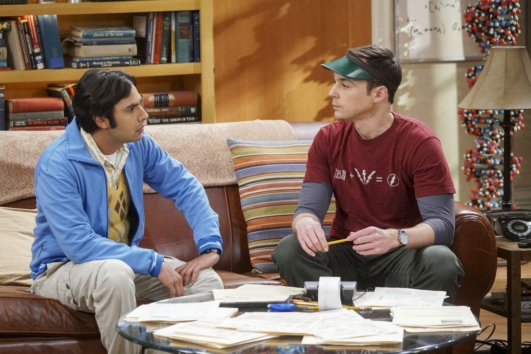 Die Comic-Con steht mal wieder vor der Tür und die Vorfreude von Raj (Kunal Nayyar, l.) und Sheldon (Jim Parsons, r.) könnte nicht größer sein. Raj... - Bildquelle: 2016 Warner Brothers