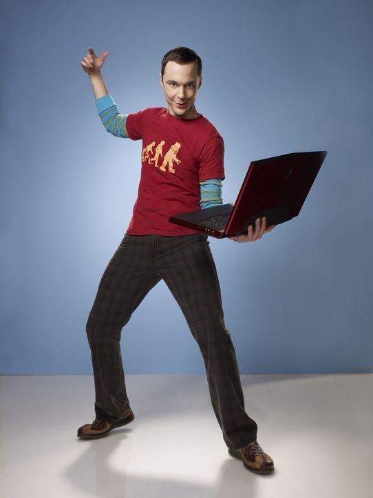 (4. Staffel) - Führt ein ziemlich schräges Leben: Sheldon (Jim Parsons) ... - Bildquelle: Warner Bros. Television
