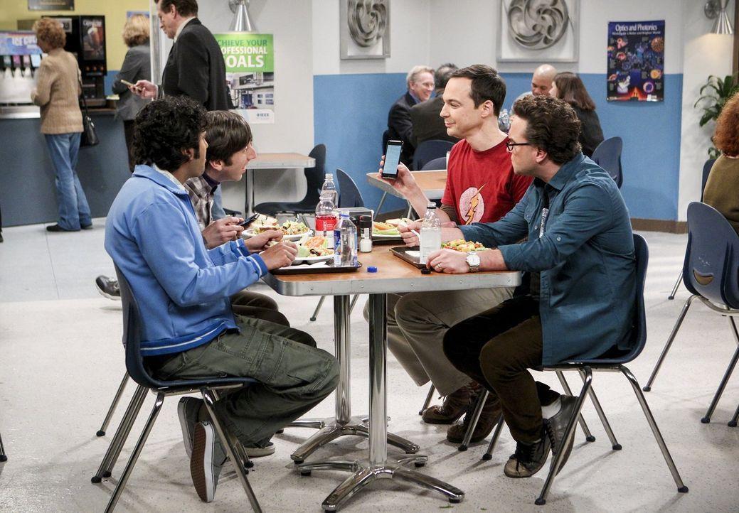 Haben alle mit ihren ganz eigenen Problemen zu kämpfen: (v.l.n.r.) Raj (Kunal Nayyar), Howard (Simon Helberg), Sheldon (Jim Parsons) und Leonard (Jo... - Bildquelle: Warner Bros. Television