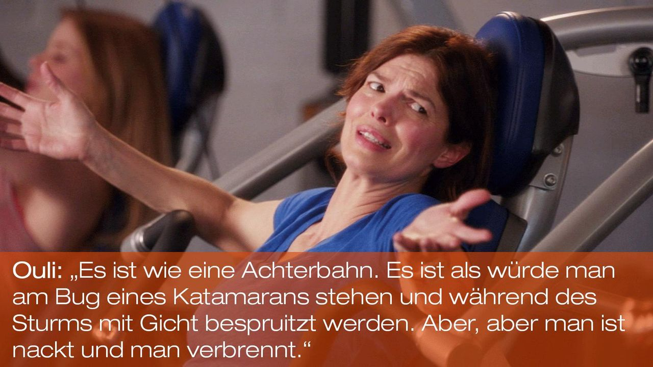 New Girl - Zitate - Staffel 1 Folge 22 - Ouli (Jeanne Tripplehorn) - Bildquelle: 20th Century Fox