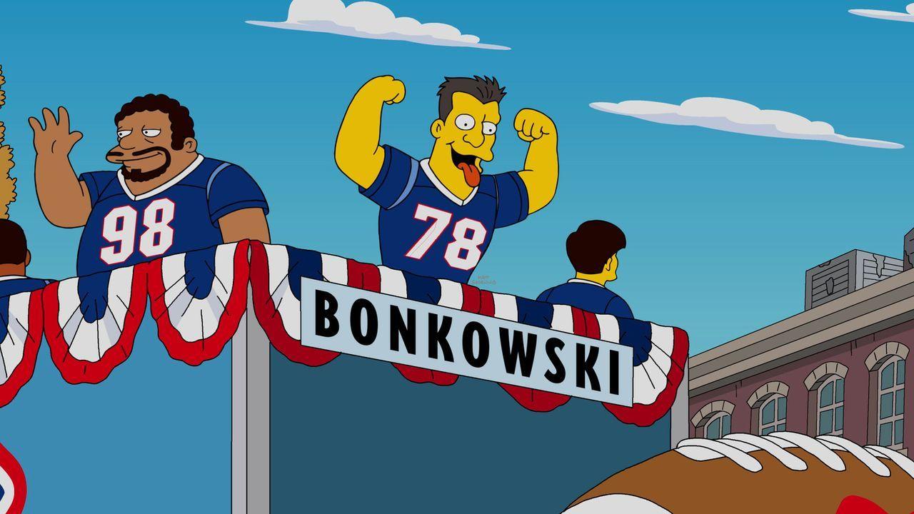 Sie sind und bleiben die größten Rivalen Springfields: das Team der Boston Americans ... - Bildquelle: 2016-2017 Fox and its related entities. All rights reserved.