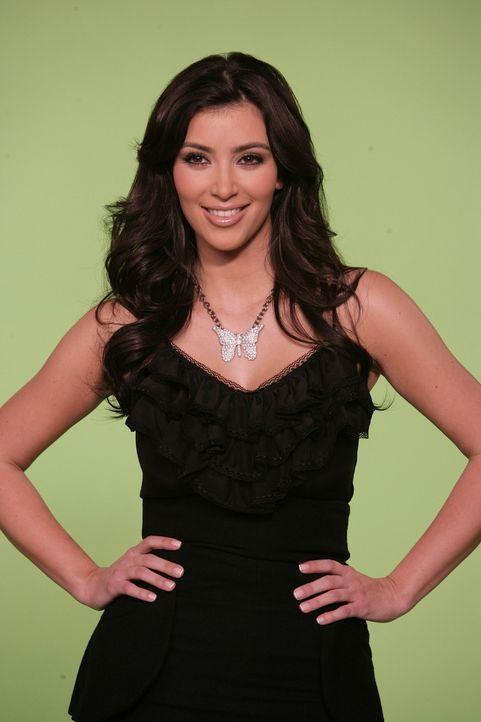"""Bei den Dreharbeiten zu """"How I Met Your Mother"""" Kim Kardashian - Bildquelle: 20th Century Fox International Television"""