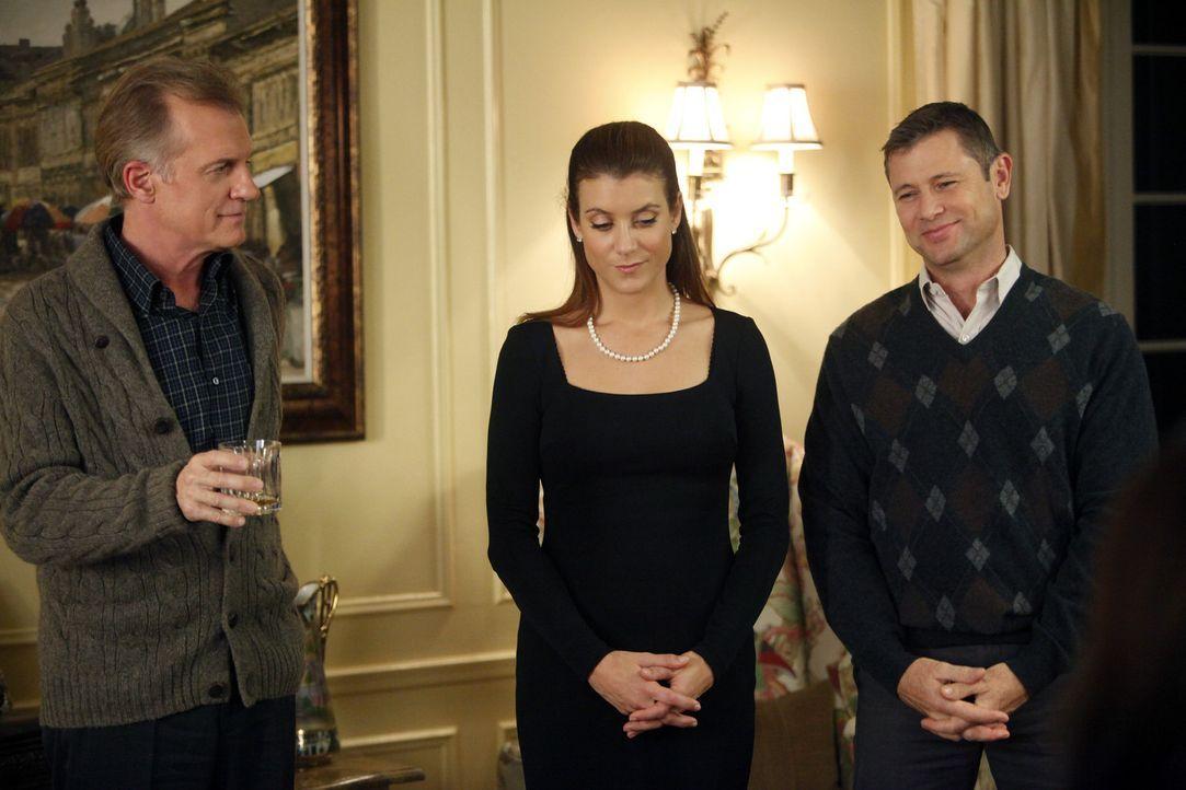 Während Addison (Kate Walsh, M.), der Captain (Stephen Collins, l.) und Archer (Grant Show, r.) mit dem Tod von Bizzy fertig werden müssen, gerate... - Bildquelle: ABC Studios